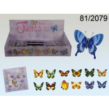 Tetování Motýli 13 obrázků