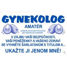 Průkaz Gynekolog amatér