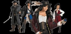 Pirátské kostýmy zaujmou pestrostí barev a velmi zajímavými střihy.  Uvidíte 298e72f5435