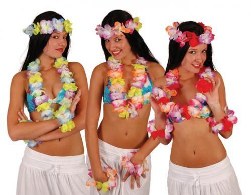 Vyberte si levné havajské věnce v různých barevných variantách 33690d4f64